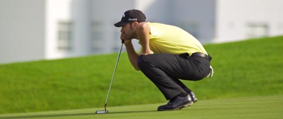 Álvaro Quirós en el Volvo Golf Champions