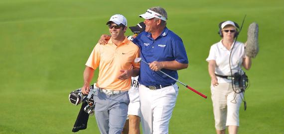 Casey y Clarke en el Volvo Golf Champions