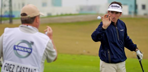 Gonzalo Fernández-Castaño en la jornada de prácticas (foto de Volvo in Golf)