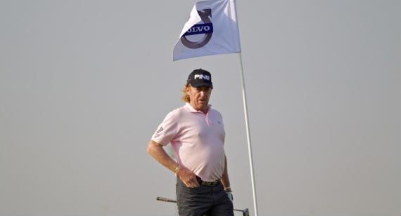 Jiménez, el abuelo del Tour, segundo en el Volvo Golf Championss