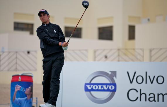 Matteo Manassero, con ganas de despegar en 2011 (foto de Volvo in Golf)