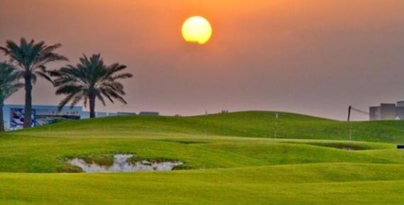 Panorámica del Royal Golf Club de Bahréin (foto de Volvo in Golf)