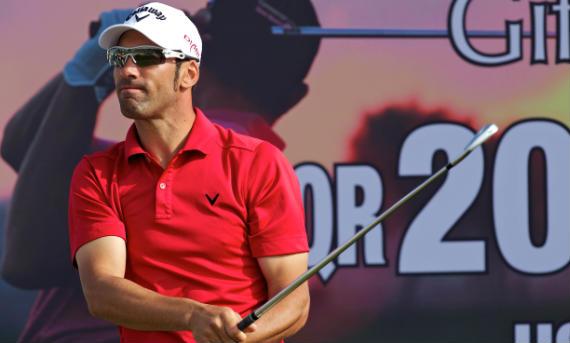 Álvaro Quirós ha luchado hasta el final del Qatar Masters