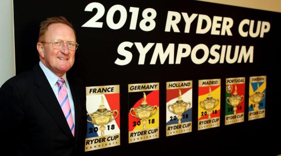 Richard Hills, director de Ryder Cup Europe (foto de Getty Images)