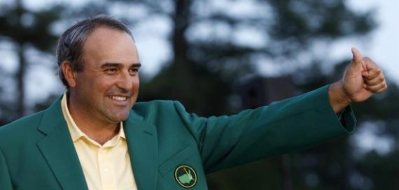 Cabrera, primer latinoamericano en ganar el Master de Augusta