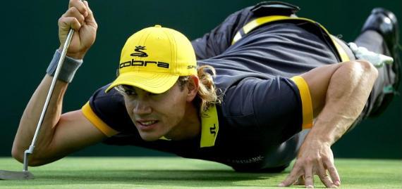 Villegas, un atleta colombiano triunfando en el PGA Tour