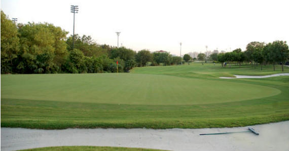 Panorámica del DLF Golf and Country Club