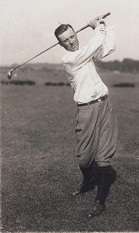 Chick Evans, campeón del US Open