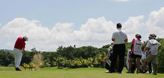 Un enclave paradisíaco para jugar al golf