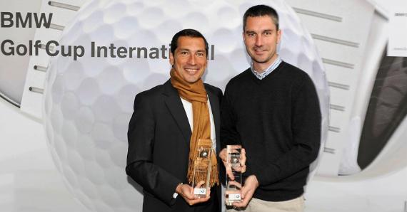 Ángel Rodríguez y Alfonso Aguilera, campeones del torneo de presentación