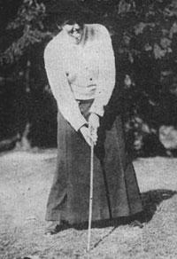 Margaret Curtis, as del tenis y el golf