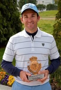 Nacho Garrido, primer ganador del Circuito de Prfoesionales 2011