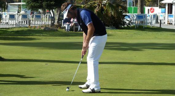 José Manuel Lara, principal baza española en el Open de Andalucía (foto de Crónica Golf)