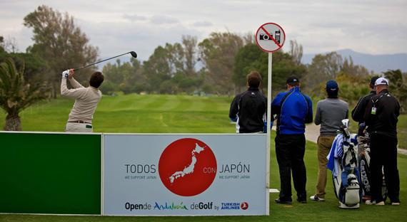 El Open de Andalucía y el Circuito Europeo muestran su solidaridad con el pueblo japonés