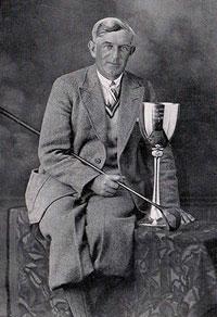 Murray, campeón de Alemania de golf en 1930