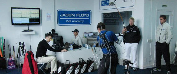 Análisis de swing en la Jason Floyd Academy