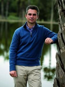 Eugenio Escribano, greenkeeper RCGS
