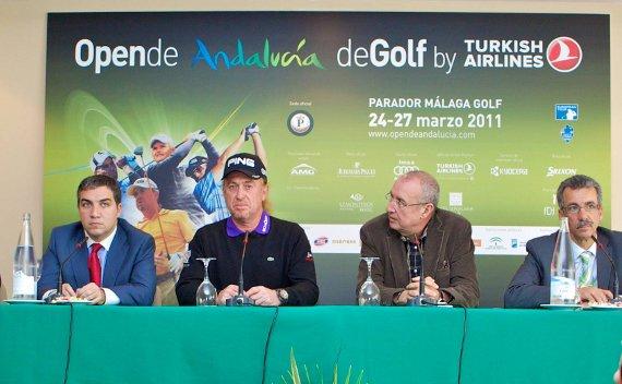 Presentación del Open de Andalucía