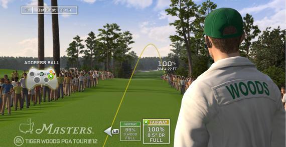 El Masters de Augusta, en el Tiger Woods PGA Tour 12