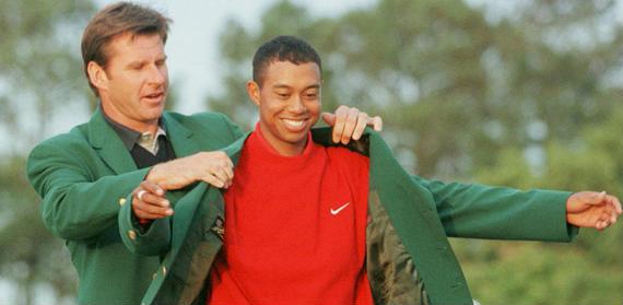 Comienza la dictadura de Tiger Woods (The Masters Tournament, 1997)