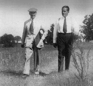 Mackenzie y Jones, en su histórico paseo de 1931