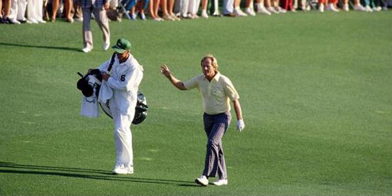 Quién dijo que no se puede ganar un Masters a los cuarenta y seis años... Jack Nicklaus en 1986
