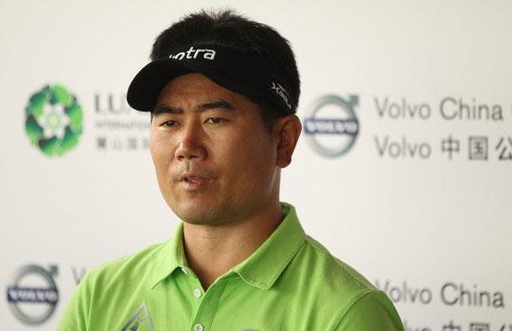 Todos los ojos rasgados están puestos en YE Yang, que busca ser el primer golfista en defender el Volvo China Open
