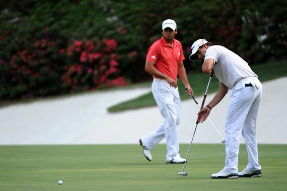 Adam Scott estuvo muy cerca de darle al putter escoba su primer major en Augusta
