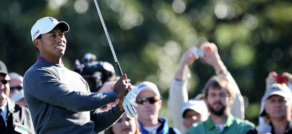 Tiger Woods quiere renacer en el Augusta National