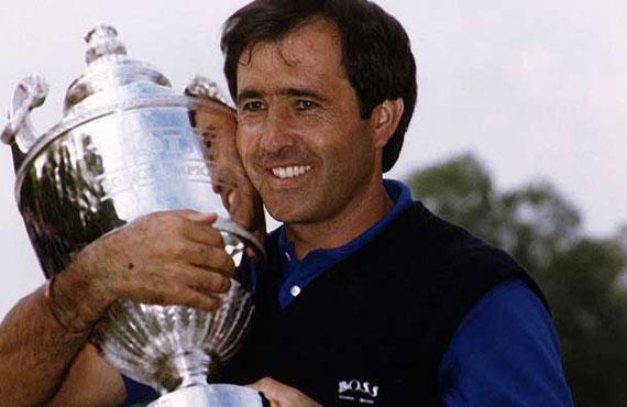 1991, el año que Severiano Ballesteros logró el doblete de Wentworth, el Volvo PGA Championship y el World Match Play Championship