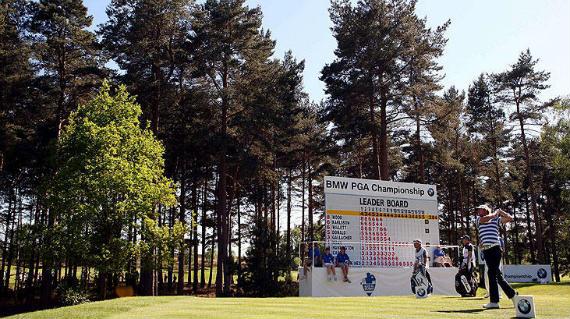 Nombres de lujo en el marcador del BMW PGA Championship