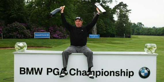 Miguel Ángel Jiménez, último campeón español del BMW PGA