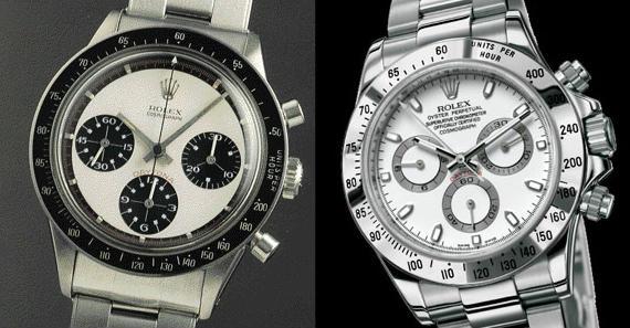 """Dos Rolex Daytona: el modelo """"Paul Newman"""" y un modelo contemporáneo"""