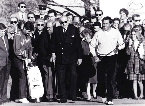 La huella de Severiano Ballesteros sigue presente en los numerosos campos diseñados en España y en Europa, como el del Novo Sancti Petri en 1991, el primero que firmaba en nuestro país