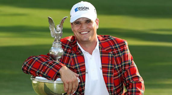 Zach Johnson, ganador del Crowne Plaza Invitational at Colonial 2010