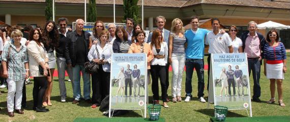 El mundo de la moda, el cine y la televisión, con el golf (foto de Fernando Herranz)