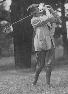 Harry Vardon, ganador en 1900 (foto USGA)