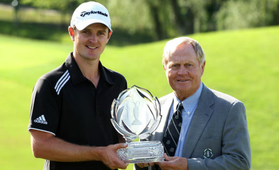 Justin Rose, vigente campeón del The Memorial Tournament