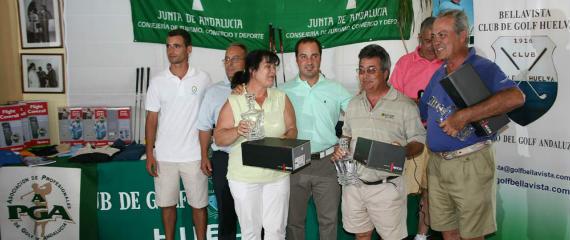 Equipo ganador del ProAm de Bellavista
