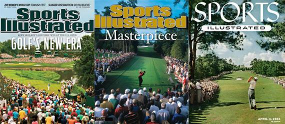 Portadas de Rory, Tiger y Hogan en Sports Illustrated