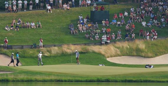 The Travelers Championship, una de las contadas ocasiones donde un torneo del PGA Tour se ve superado por el Circuito Europeo