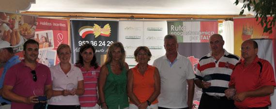 Ganadores de la Marbella Golf Cup en Los Naranjos