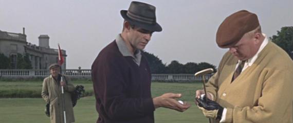 James Bond y Goldfinger se la jugaron en Royal St. George's