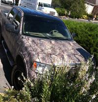 El coche de Boo Weekley