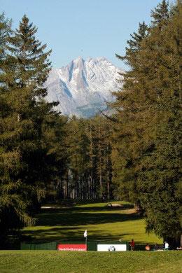 Apabullante vista de Crans-sur-Sierre