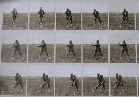 Swing con el driver de Walter Hagen
