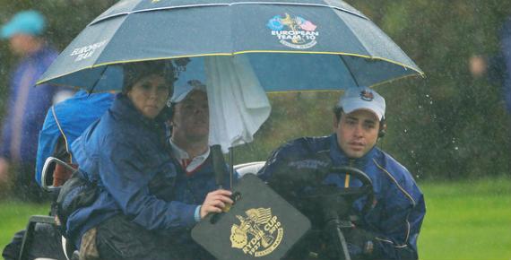 La carrera por el equipo europeo de la Ryder Cup de 2012 también empieza en la lluviosa Costa Este de los EEUU