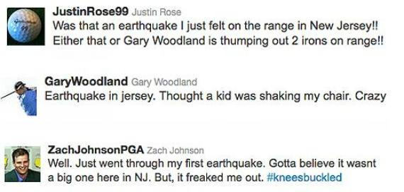 Un terremoto de tweets en el PGA Tour