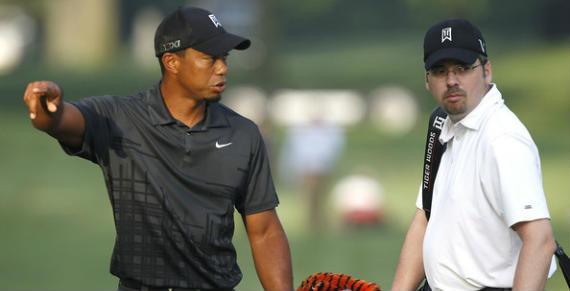 Tiger Woods estrena caddie, su amigo de la infancia Bryon Bell
