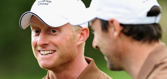 Simon Dyson, probablemente el golfista británico más en forma en el circuito